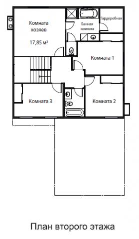 Ситар тип 4 bed. второй этаж