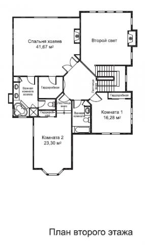 Сохо тип B второй этаж