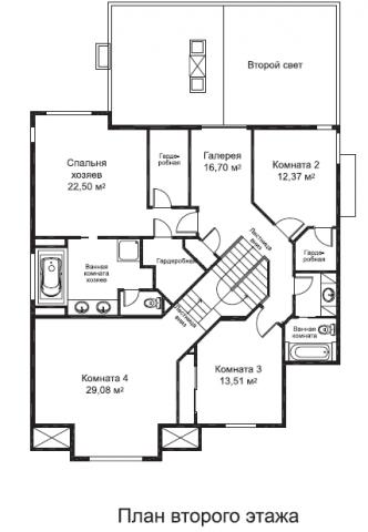 Калахан тип A второй этаж