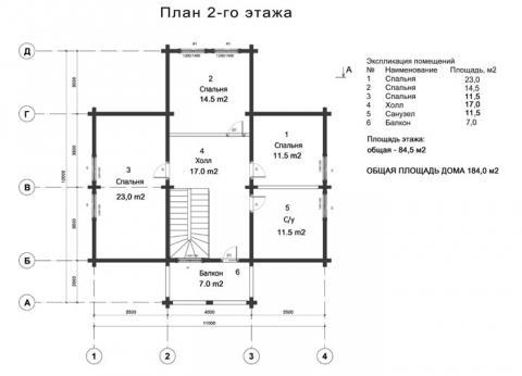 Брусландия проект 5 второй этаж